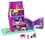 Polly Pocket GFP42 - Pollys Haus Puppenhaus mit Zubehör, Puppen Spielzeug ab 4 Jahren