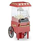 Retro Popcorn Maschine mit Heissluft fettreduziertes Popcorn Ölfrei Fettfrei Popcorn Automat