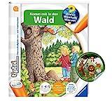 Ravensburger tiptoi ® Buch | Komm mit in den Wald + Kinder Tier-Sticker | Kinderbuch ab 4 Jahren
