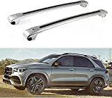Mayz 2 Stück Auto Dachträger für Mercedes Be nz V167 GLE 2019 2020, Dachreling Grundträger Dachgepäckträger und Dachboxen