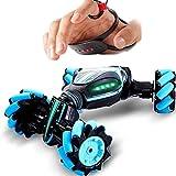 PETRLOY Fernbedienung Stunt Auto, Weihnachten Stunt RC Car 360 Grad Roll Gesture Sensing Twisting Fahrzeug Drift Car Driving Toy Geschenke, Weihnachtsgeschenk for Jungen und Mädchen Auto Spielzeug for