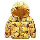 Kinder Jacke mit Kapuze Winter Mäntel Jungen Madchen Schneeanzüge Outfits 2-3 Monate