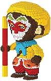 QSSQ Mini Diamond Blocks Bricks Building Toy, Monkey King Hero Modellfigur Für Kindergeschenk,A