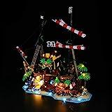 LIGHTAILING Licht-Set Für (Ideas Piraten der Barracuda-Bucht) Modell - LED Licht-Set Kompatibel Mit Lego 21322(Modell Nicht Enthalten)