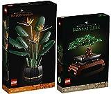 BRICKCOMPLETE Lego 2er Set: 10281 Bonsai Baum & 10289 Paradiesvogelblume