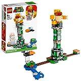 LEGO 71388 Super Mario Kippturm mit Sumo-Bruder-Boss – Erweiterungsset, baubares Kinderspielzeug zum Sammeln, Geschenkidee