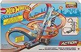Hot Wheels GJM76 - Himmelscrash Turm 83cm hoch mit batteriebetriebenem Beschleuniger und mit Looping, Geschenk für Kinder ab 5 Jahren