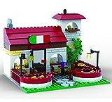 Brigamo Bausteine Pizzeria Ristorante, 328 Klemmbausteine