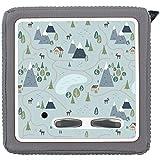 yabaduu Schutzfolie Schutzcover für Toniebox passgenau selbstklebend kindgerecht Folie Zubehör für Kinder Spielzeug Y031 (Nr.7 Landschaft Blau, Ohne Wunschname)
