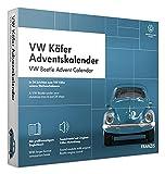 FRANZIS 67098 - VW Käfer Adventskalender 2020 – In 24 Schritten zum VW Käfer unterm Weihnachtsbaum, Bausatz für das detailgetreue Modell-Auto im Maßstab 1:43, empfohlen ab 14 Jahren