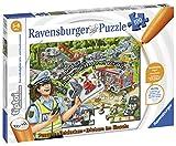 Ravensburger tiptoi 00554 Puzzeln, Entdecken, Erleben: Im Einsatz , für Kinder von 5-8 Jahren, Hilf Polizei, Feuerwehr und Rettungsdienst am Einsatzort
