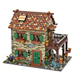 Fujinfeng MOC Italienische Wohnbausteine Modell 2950 Teile, Klemmbausteine Konstruktion Spielzeugmodelle Kompatibel mit Lego