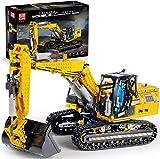 Technic Linkbelt Bagger Bausatz, 2,4 GHz/APP RC Bagger Modell, Baustein Kompatibel mit Lego Technic, Geschenk für Erwachsene und Kinder, 1830+Pcs