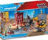 PLAYMOBIL City Action 70443 Minibagger mit Bauteil, Ab 5 Jahren