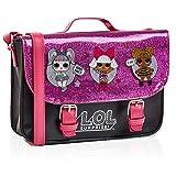 L.O.L. Surprise! LOL Puppen Handtasche Klein Rosa Glitzer Für Mädchen Mit LOL Doll Unicorn, Diva Und Queen Bee   Mädchen Handtasche Pink   Kinder Umhängetasche   Mode Umhängetaschen Für Kinder