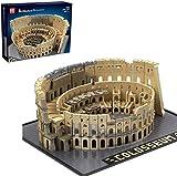 LAKIOMZ Das Kolosseum Baustein Modell 6466pcs Berühmte Straßenansicht Architektur Arena Montage Pädagogische Steine Modell Kompatibel mit Lego
