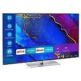 MEDION X14360 108 cm (43 Zoll) UHD Fernseher (Smart-TV, 4K Ultra HD, Dolby Vision HDR, MEMC, Micro Dimming, Netflix, Prime Video, WLAN, Triple Tuner, DTS, PVR, Bluetooth)