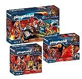 Playmobil Novelmore Burnham Raiders Set: 70226 70227 70228