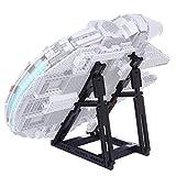 LYCH Ständer für Lego Star Wars Millennium Falcon Konstruktionsspielzeug, Ständer für Lego 75257/75212 (Nur Display Stand enthalten, kein Lego Kit)