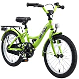 BIKESTAR Kinderfahrrad für Jungen ab 5 Jahre   18 Zoll Kinderrad Classic   Fahrrad für Kinder Grün   Risikofrei Testen