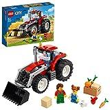 LEGO 60287 City Traktor Spielzeug, Bauernhof Set mit Minifiguren und Tierfiguren, toll als Geschenk für Jungen und Mädchen ab 5 Jahren