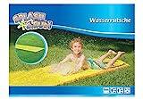 The Toy Company 0018484 Splash & Fun Wasserrutsche, gelb, ca. 600 x 80 cm