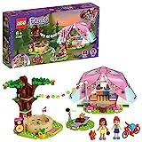 LEGO 41392 Friends Camping in Heartlake City Set mit Mini Puppen Olivia & Mia und Zelt, Spielzeug ab 6 Jahren für Mädchen und Jungen
