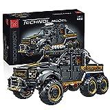 BAXT Technik Geländewagen für Ford F-150 Raptor, 3218 Teile Technik 6X 6 Offroader Auto Bausteine SUV ModellBauset, Klemmbausteine Kompatibel mit Lego Technic 42126