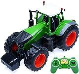 Mopoq 01.16 Anteil Farm Wagen, Kindertraktor großer Ingenieur Fahrzeug Funk RC Traktor mit Licht und Sounds Farm Fahrzeug Off-Road-Fahrzeug