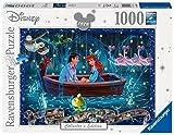 Ravensburger Puzzle 19745 - Disney Arielle - 1000 Teile Puzzle für Erwachsene und Kinder ab 14 Jahren, Disney Puzzle mit Arielle, Fabius, Sebastian und Co.