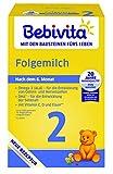 Bebivita 1117-01 Milchnahrung 2 Folgemilch, 4er Pack (4 x 500 g)