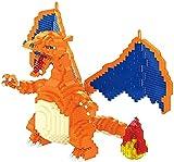 QSSQ Cartoon Mini Blöcke Drachen DIY Baustein Kinder Anime Bildung Modell Spielzeug Für Kinder Geschenke