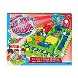 TOMY T7070 Kinderspiel Crazy Ball (Tricky Golf), Hochwertiges Kinderspielzeug, Mini Spiele, Geschicklichkeitsspiel Kinder, Labyrinthspiel, Geschenke für Kinder ab 5 Jahren, Flipper Kinder