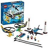 LEGO 60260 City Air Race Spielzeug, Flugzeug & Hubschrauber Spielset, Flugzeugspielzeuge für Kinder ab 5 Jahren