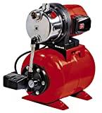 Einhell 4173480 Hauswasserwerk GC-WW 1046 N (1050 W, 4600 L/h Max. Fördermenge, Max. Förderdruck 4,8 bar, Druckschalter, Manometer, 20 L Behälter)