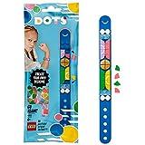 LEGO 41911 DOTS Retro Armband, Bastelset für Kinder, DIY Kinderschmuck