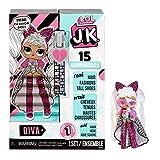 LOL Surprise JK Mini-Modepuppe - 15 Überraschungen, Kleidung & Accessoires - Ab 6 Jahren - Sammlerstück - Diva