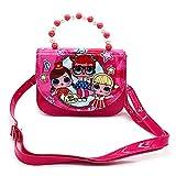 LOL Surprise Doll Mädchen Handtasche für Kinder, LOL Toys for Girls Pink Crossbody Handtasche, LOL Geschenke für Mädchen im Alter von 3–12 Jahren, Schön modische LOL Girls Crossbody Bag