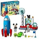 LEGO 10774 Mickys und Minnies Weltraumrakete Spielzeug zum Bauen für Kinder ab 4 Jahre, Raketenspielzeug