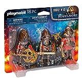 PLAYMOBIL Novelmore 70642 3er Set Burnham Raiders, Ab 4 Jahren