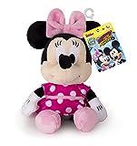 Minnie Mouse 182394MM2 Mickey & Friends Minnie Maus Classic Mini Plüsch, Rose