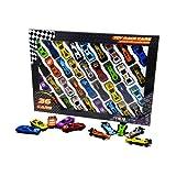 ToyGalaxy 36 Stück Die-Cast Spielzeug Rennwagen Druckguss Spielzeugfahrzeuge Rennwagen F1 Autos und Modellautos (1 Stück)