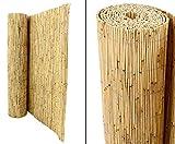 bambus-discount.com Schilfrohrmatte Premium, 120 x 600cm - Sichtschutzmatten Schilfmatten