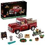 LEGO 10290 Pickup, Bauset für Erwachsene, Sammlermodell, kreatives Hobby, Geschenkidee, klassischer Pickup aus den 1950er Jahren