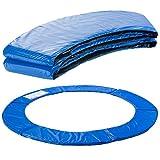 Arebos Trampolin Randabdeckung Federschutz | 183, 244, 305, 366, 396, 457 oder 487 cm | aus PVC und PE | Reißfest | 100% UV-beständig | Blau (blau, 396 cm)