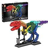 Lishiguli Building Block Toy Dinosaurier- Serie Tyrannosaurus Rex Fossil Modell, kreativ DIY. Simulation Mighty Tier Montage Ziegel Spielzeug 1572 stücke Kompatibel mit Lego