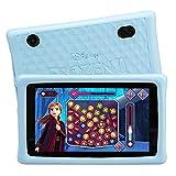Pebble Gear Kinder Tablet 7' Die Eiskönigin 2 - Disney Frozen 2 kids tablet mit kindgerechter Hülle / stoßfester Bumper, elterliche Kontrolle, Blaulichtfilter, 500+ Spiele, Apps, E-Books, Wi-Fi, 16 GB