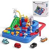 Umitive Auto Spielzeug, Track Cars Spielzeug, Auto-Abenteuerspielzeug, Stadt Rettung Maschinenbau Fahrzeuge Spielzeug Set, Montessori Lernspielzeug für Kinder ab 3 4 5 6 7 8 Jahre (small)