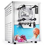 VEVOR Speiseeisbereiter 16-20L /H kommerzielle Eismaschine 1400W Softeismaschine für Bars, Cafés, Milchtee Läden usw.
