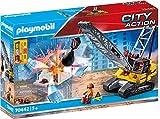 PLAYMOBIL City Action 70442 Seilbagger mit Bauteil, Ab 5 Jahren
